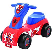 SPIDERMAN PUSH 'N SCOOT RIDE ON