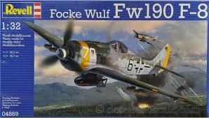 Revell #04869 1/32 Focke-Wulf Fw190 F-8