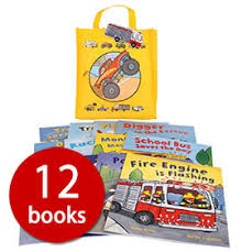 BUSY WHEELS IN A BAG COLLECTION (12 BOOKS)