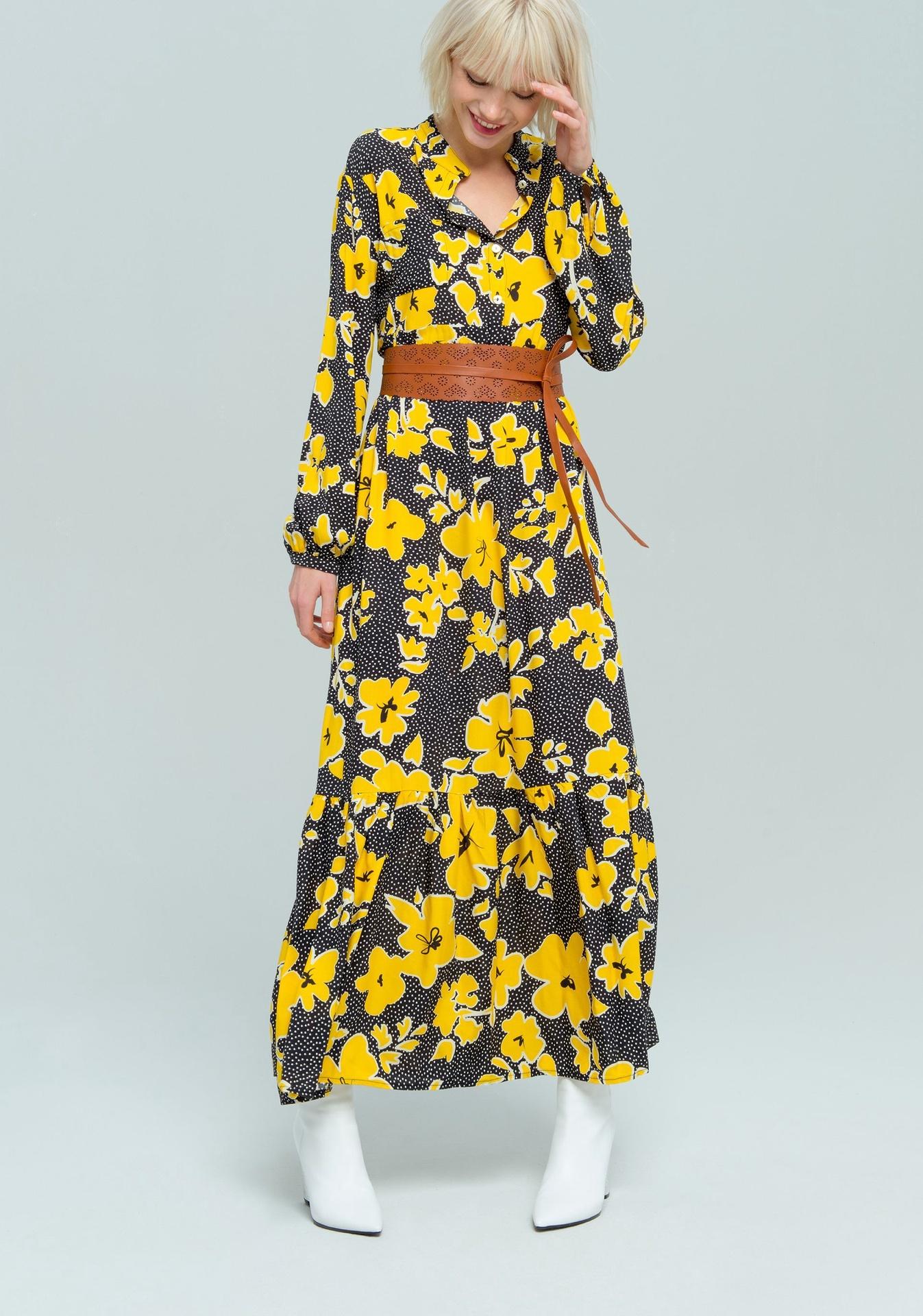 Fracomina Floral Belt Dress
