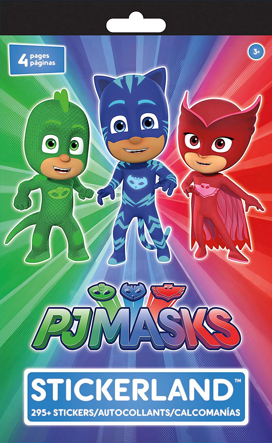 PJ MASKS STICKER PAD