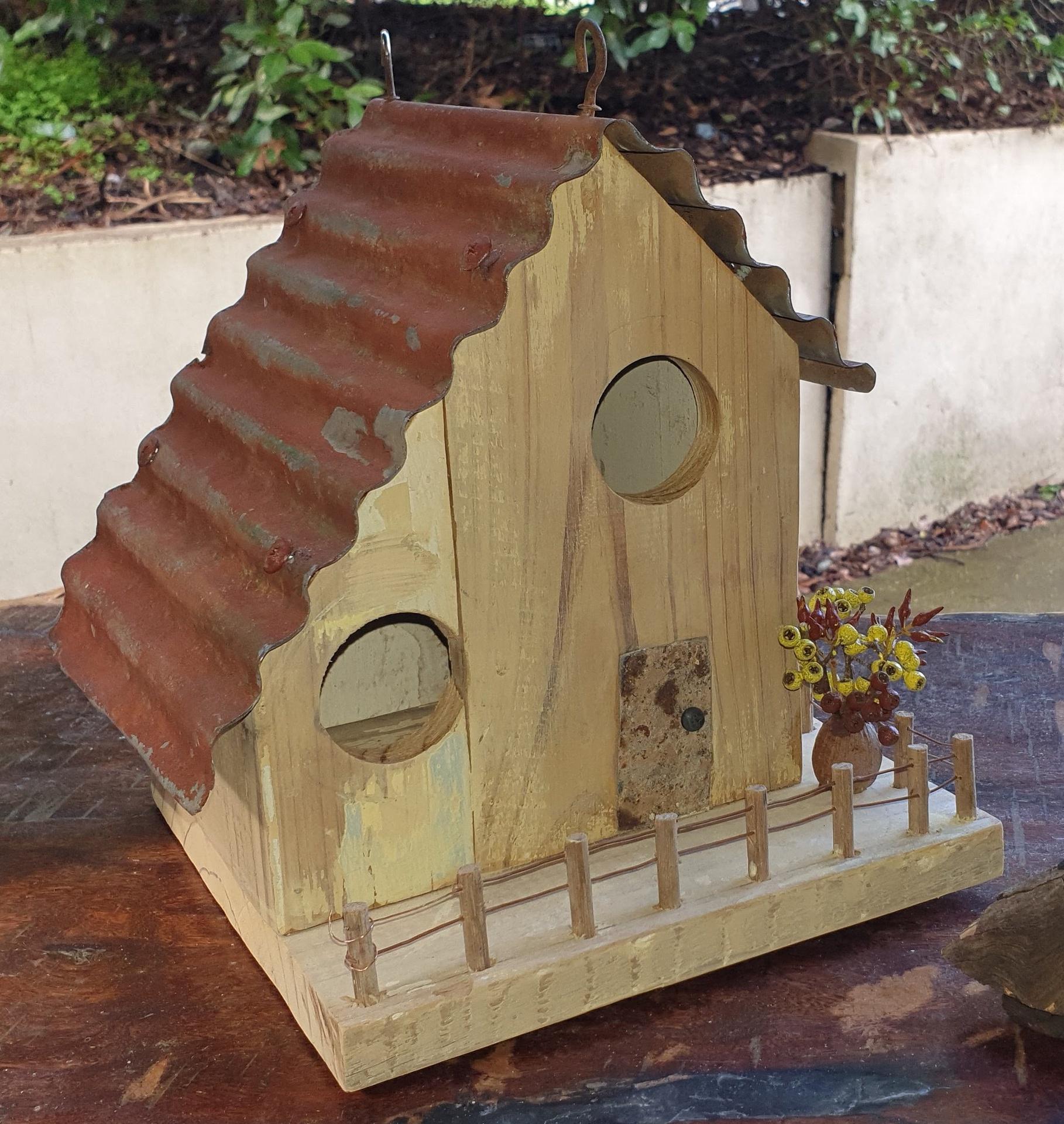 Rustic Bird Cottage
