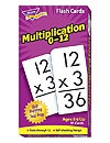 T 53105 MULTIPLICATION 0-12 FLASH CARDS