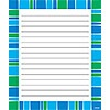 X DC T 72353 STRIPE-TACULAR COOL BLUE NOTEPAD