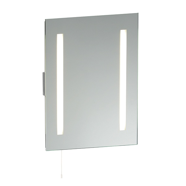 Glimpse shaver mirror HF IP44 15W SW wall - mirrored glass
