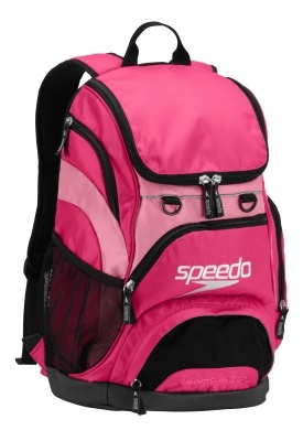 35L USA Teamster Backpack Fuschia/Black