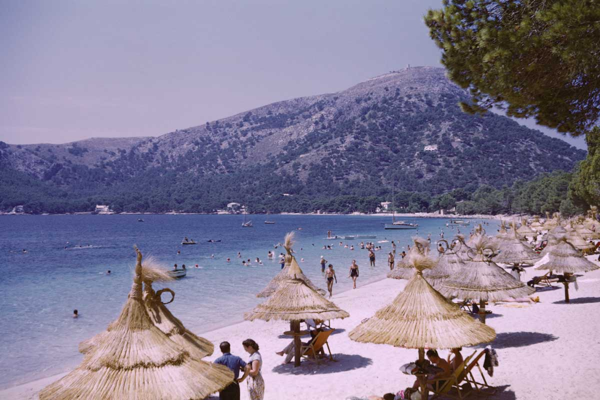 Old Playa Formentor 1955