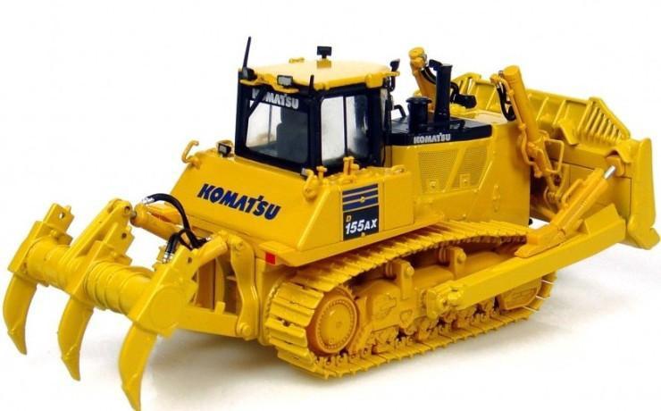 Universal Hobbies #UH8010 1/50 Komatsu D155AX-7 Dozer/Ripper