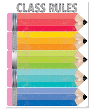 CTP 5249 CLASS RULES PENCIL CHART