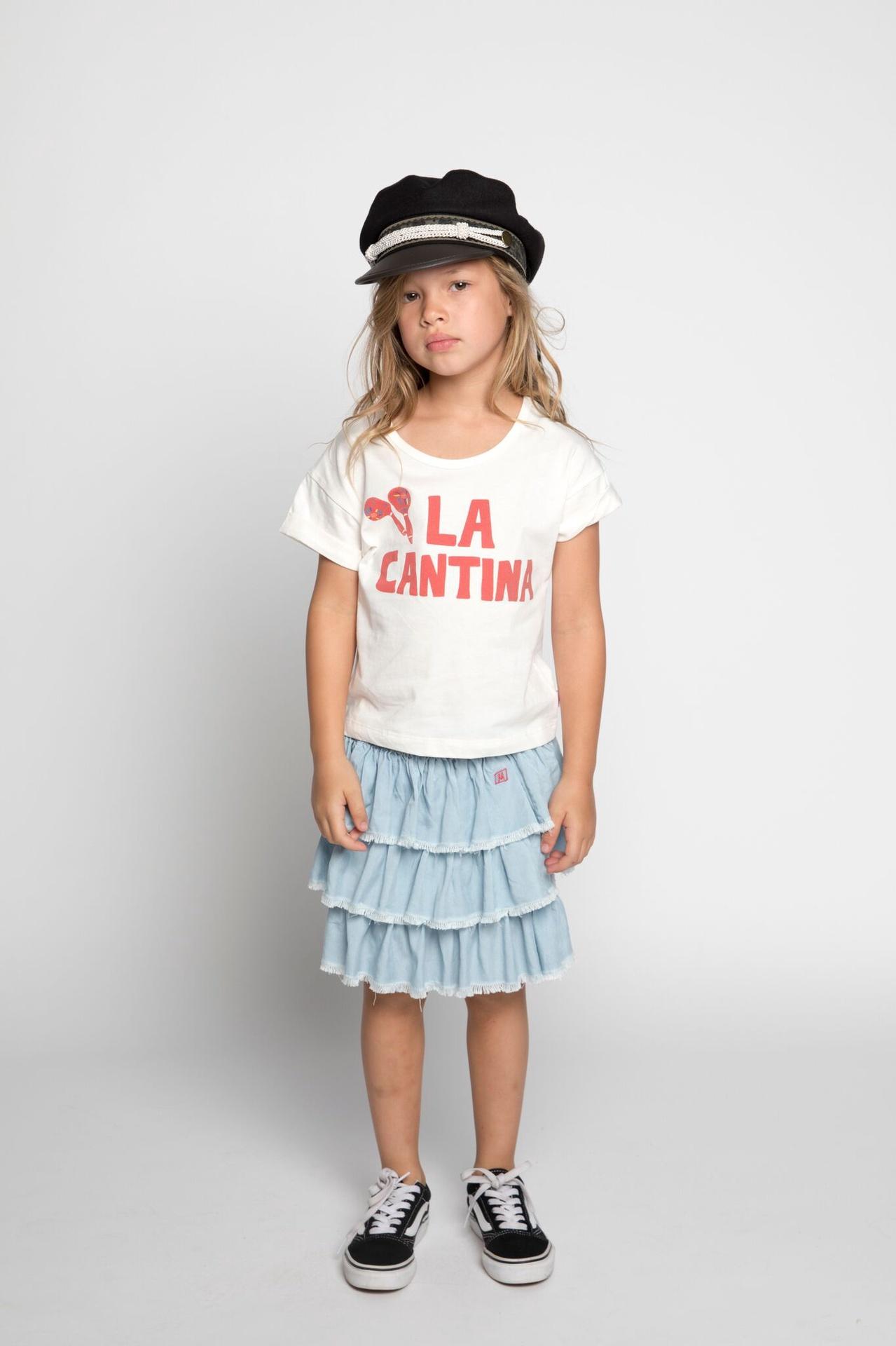 Missie Munster Ruffle Skirt