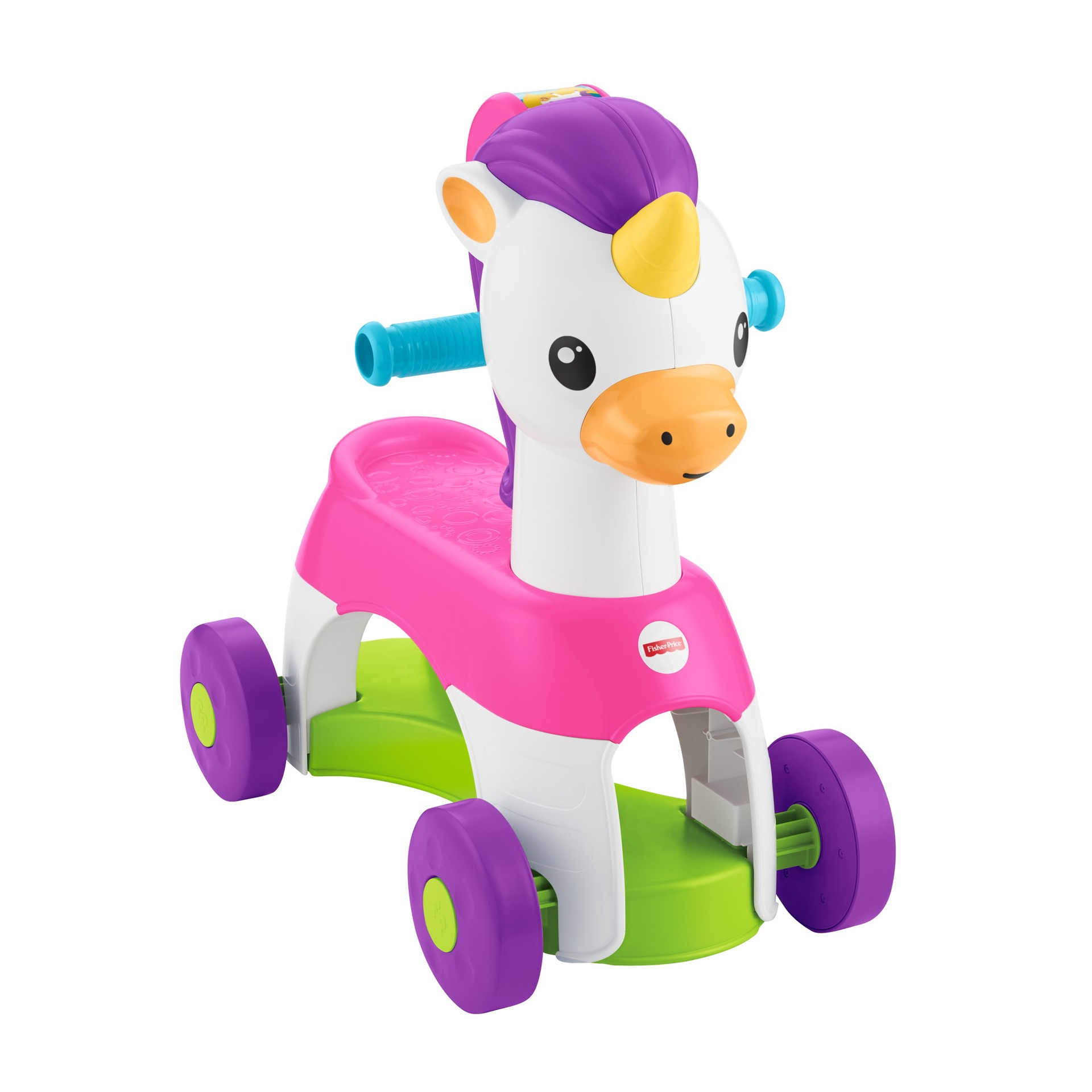 FISHER-PRICE ROLLIN TUNES UNICORN