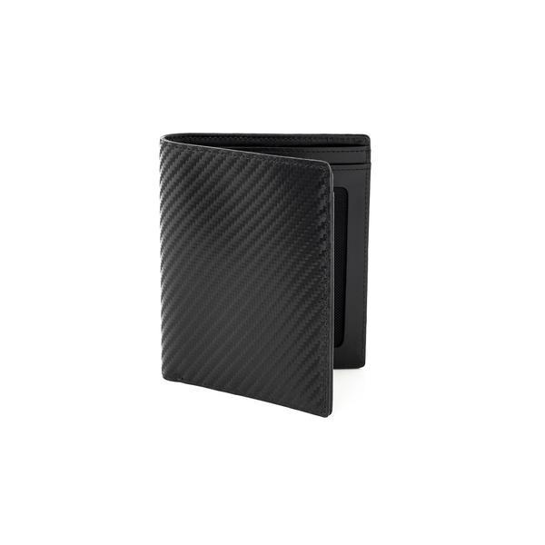 WURKIN STIFFS - RFID LEATHER WALLET IN CARBON EURO
