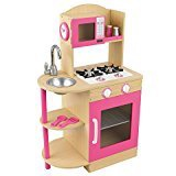 WOODEN KITCHEN PINK