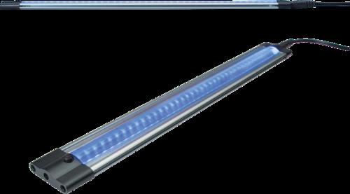 IP20 3W 42 LED THIN LINEAR LIGHT 24V BLUE 300mm