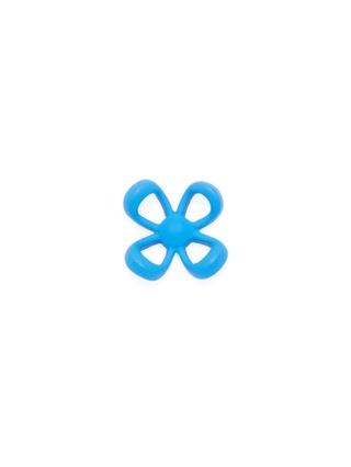 WURKIN STIFFS - LAPEL PIN IN FLOWER BLUE