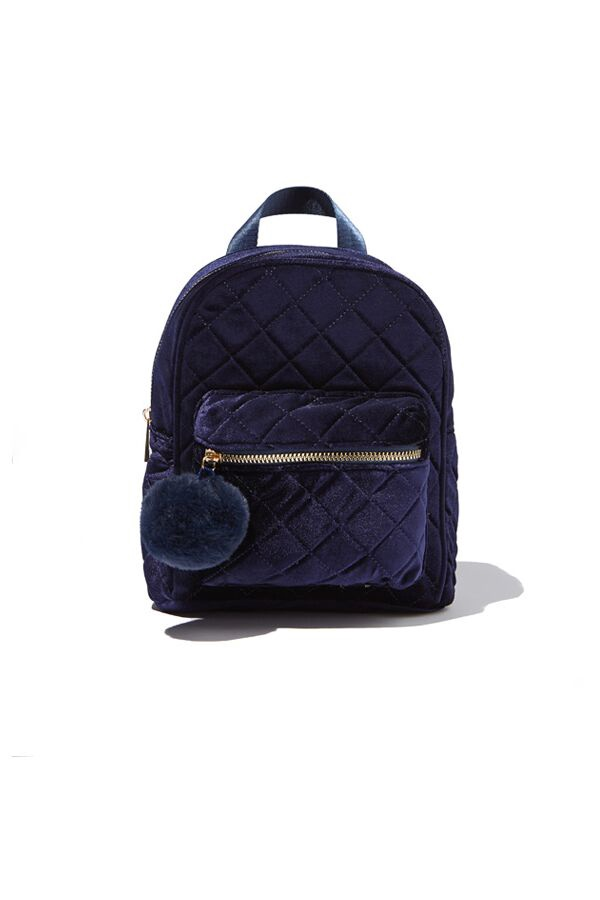 Milky QUILTED BACKPACK Navy