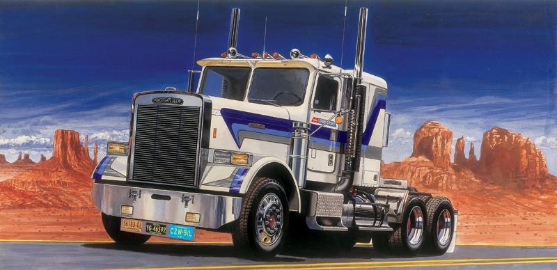 Italeri #3859 1/24 Freightliner FLD