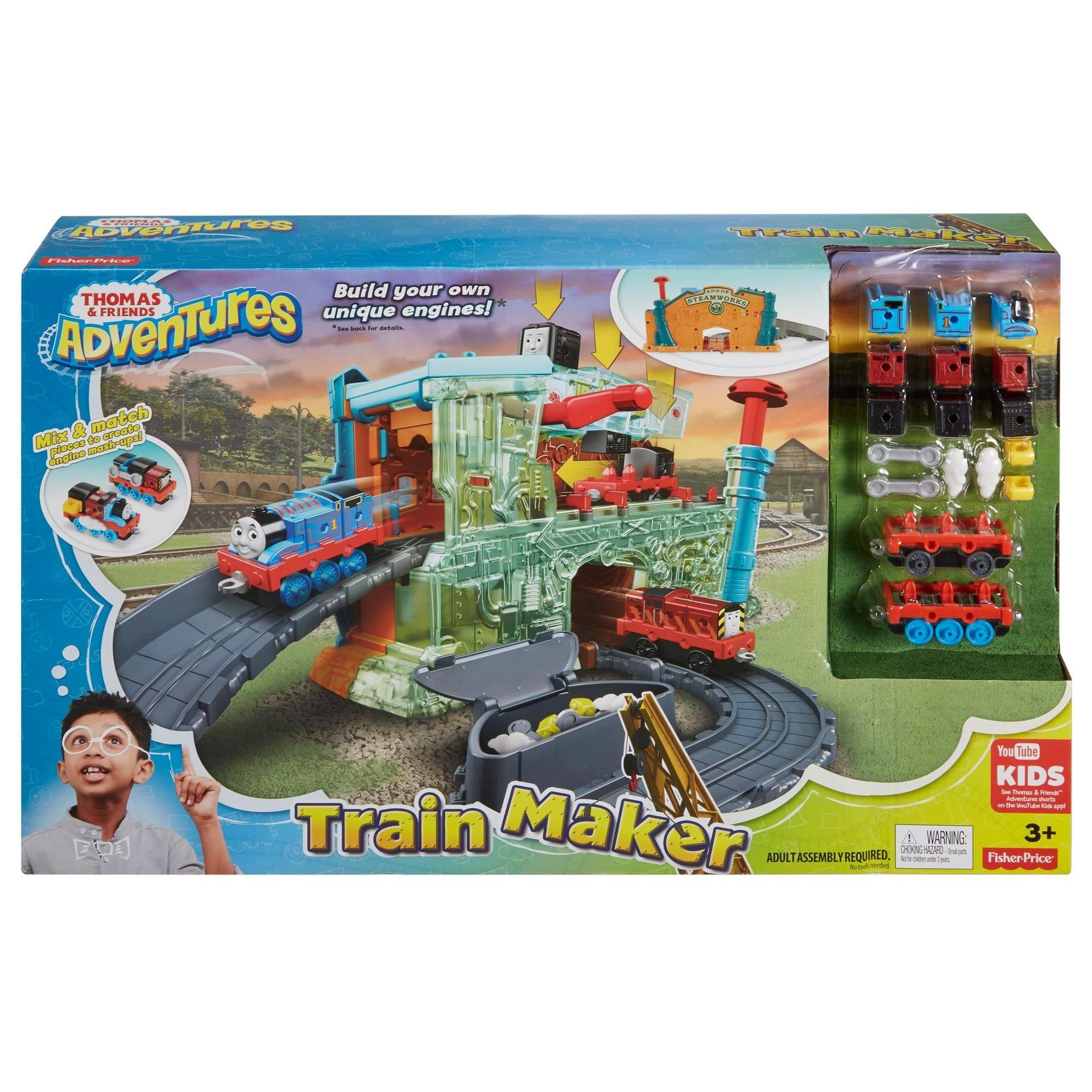 THOMAS & FRIENDS ADVENTURES TRAIN MAKER