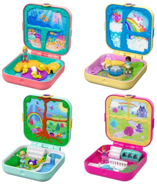 POLLY POCKET HIDDEN HIDEOUTS ASST