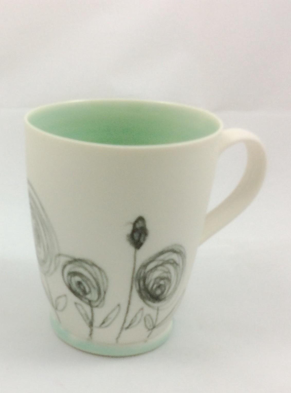 Buttercup Scribble Mug