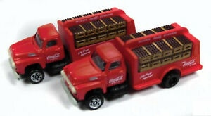 Mini Metals #50383 1954 Ford Bottle Truck  (Coco Cola)