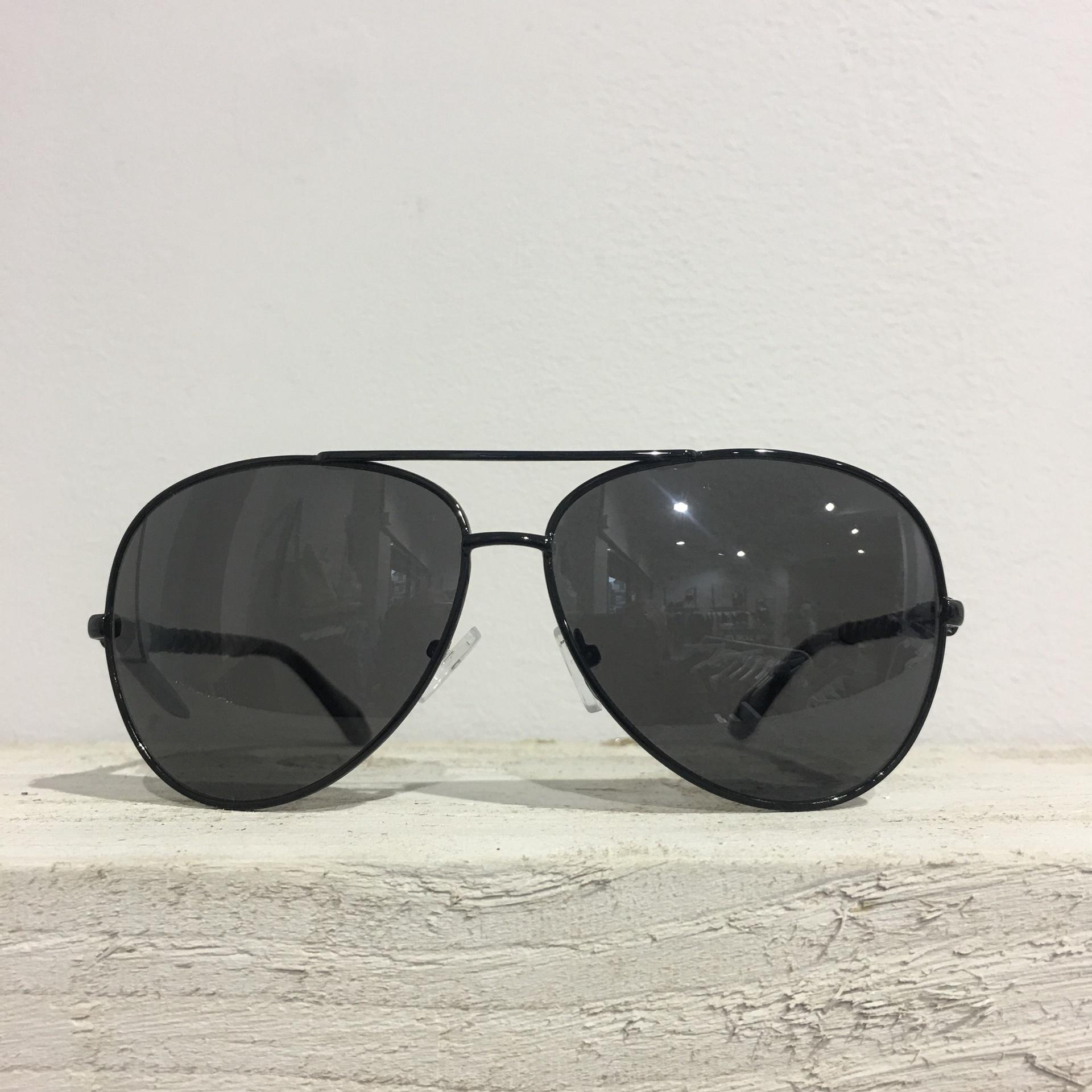 Sunglasses - Black Bar Aviator