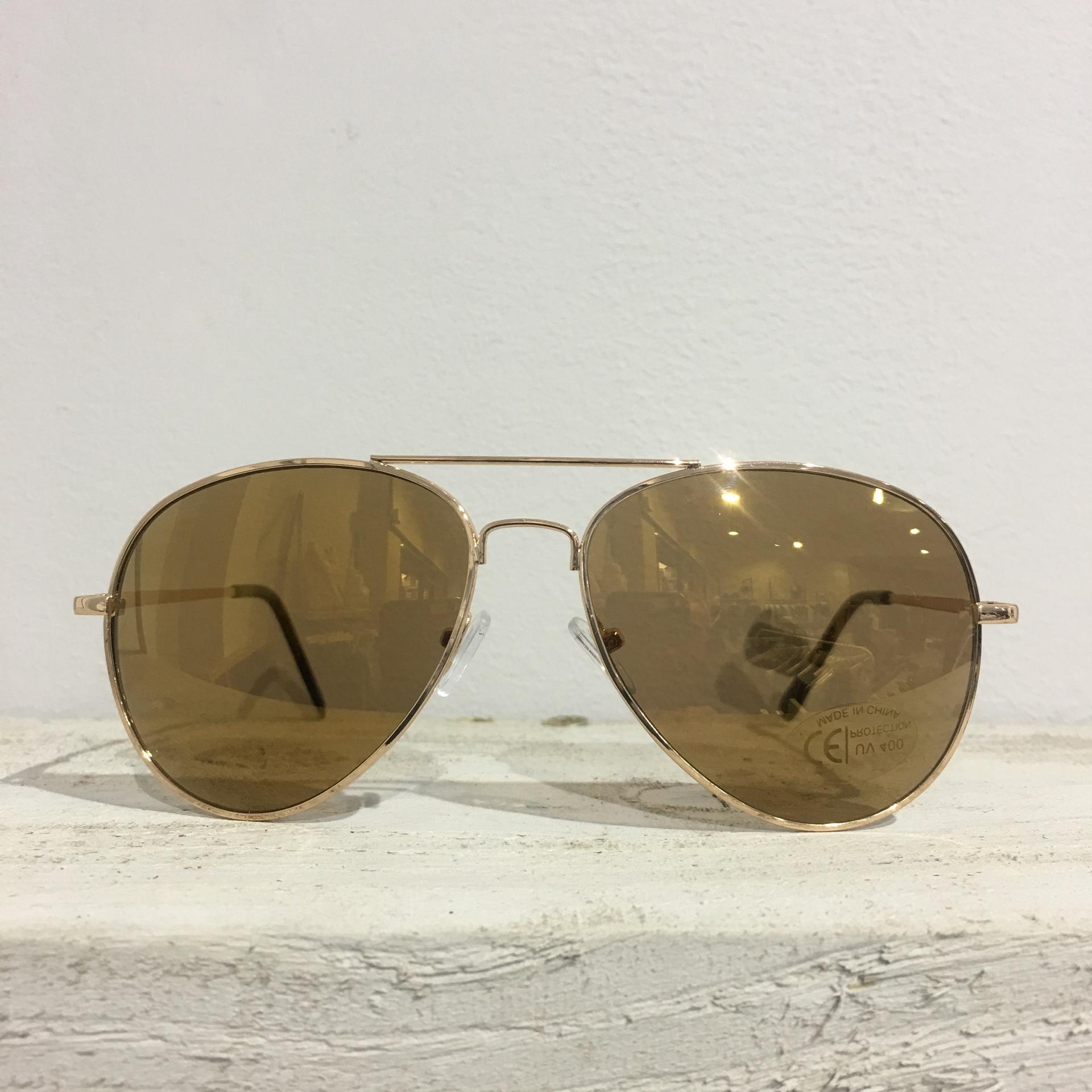 Sunglasses - Golden Aviators