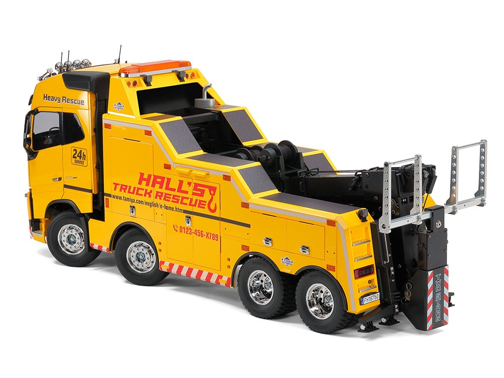 Tamiya #56362 1/14 Volvo FH16 Globetrotter 750 8x4 Tow Truck
