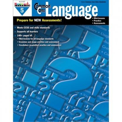 X NL 2163 COMMON CORE LANGUAGE GR. 5