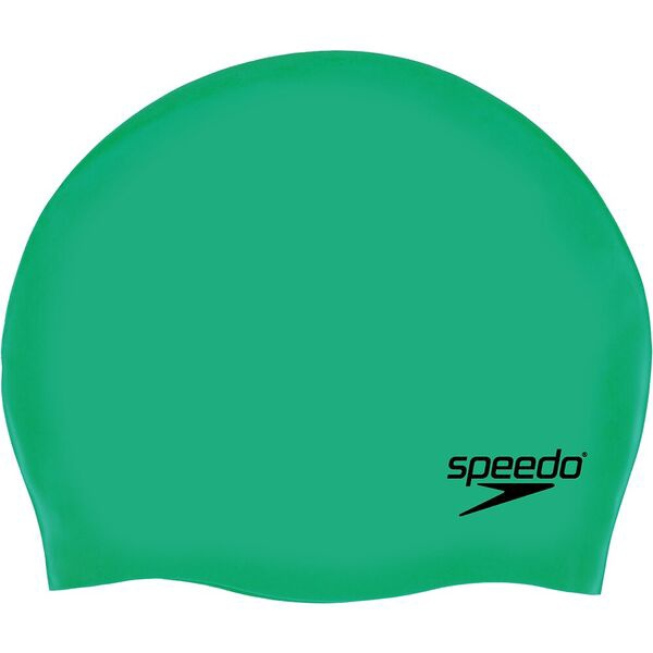 Plain Moulded Silicon Cap Green
