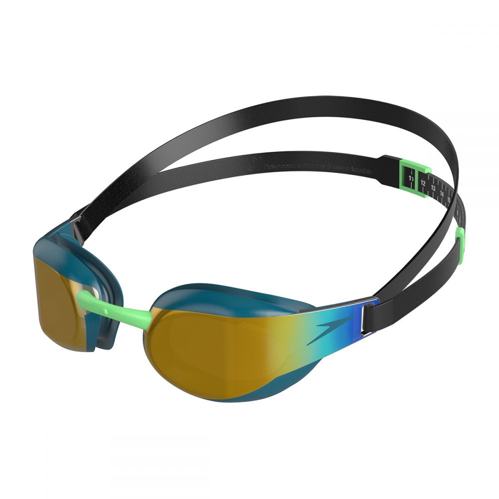 Fastskin Elite Mirror Goggles Black/Nordic Teal
