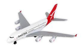 QANTAS A380 SINGLE PLANE
