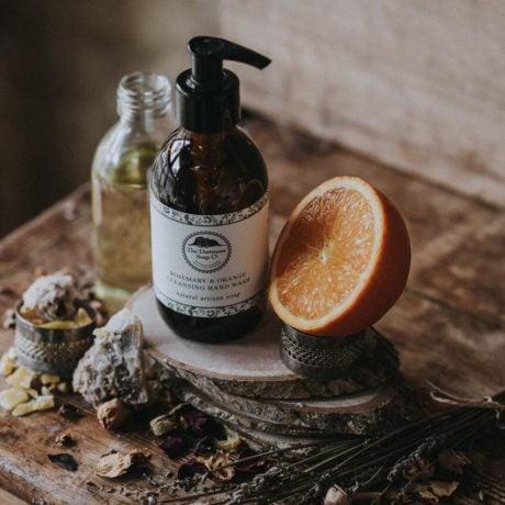 Dartmoor Hand & Body Wash - Rosemary & Orange 250g