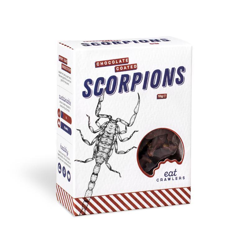 Chocolate Coated Scorpions 10g