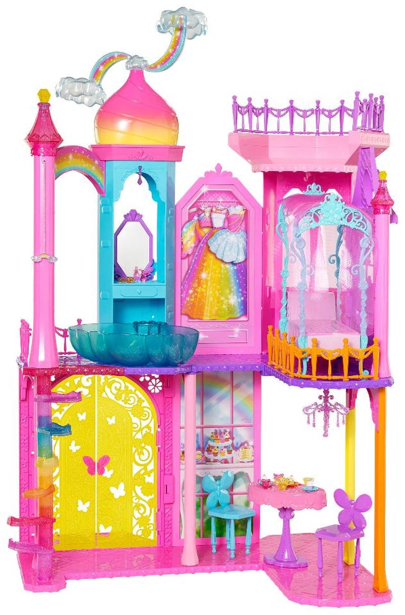 BARBIE RAINBOW COVE PRINCESS CASTLE PLAYSET