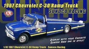 Acme #A1801701 1967 Chevy C30 Ramp Truck (Sunco Racing)