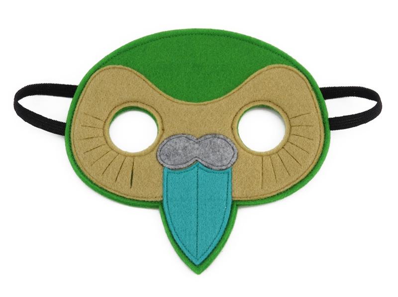 Kerry the Kakapo Mask