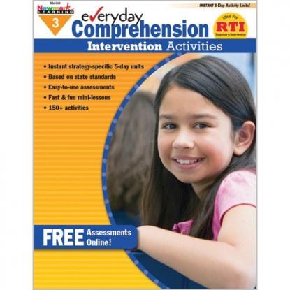 X NL 0411 EVERYDAY COMPREHENSION INTERVENTION ACTIVITIES GR. 3
