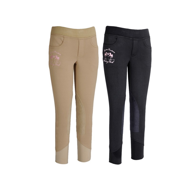 Equine Couture Childs Riding Club Fleece Pull On Breech
