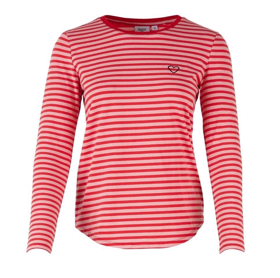 Striped T-Shirt with heart