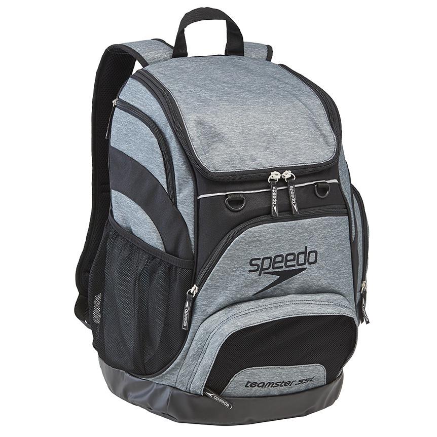 35L USA Teamster Backpack Heather Grey/Black