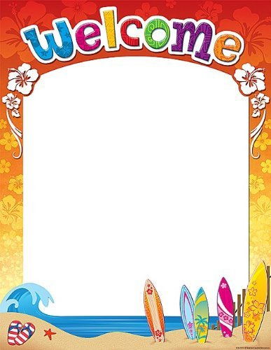 X TCR 7774 SURF'S UP WELCOME CHART
