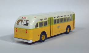 Mini Metals #32301 HO GMC TDH-3610 Transit Bus