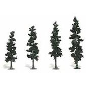 Woodland Scenics #TR1105 Realistic Pine Tree Kit 24 Pack