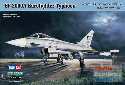 Hobby Boss #80264 1/72 EF-2000A Eurofighter Typhoon