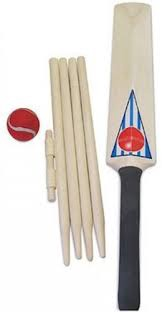 CRICKET SET SIZE 3 IN BAG