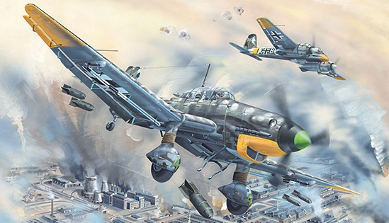 Trumpeter #2424 1/24 Junkers Ju-87D-5 Stuka Dive Bomber