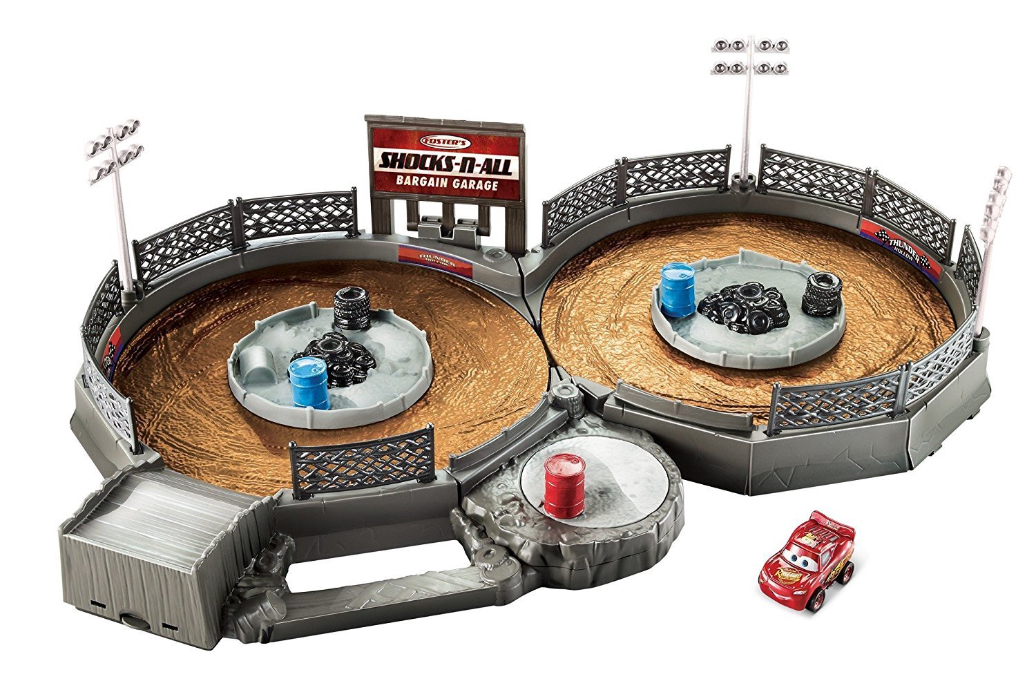 DISNEY CARS CRANK & CRASH DERBY PLAYSET