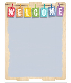 CTP 5241 UPCYCLE WELCOME CHART