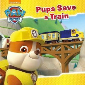 PAW PATROL PUPS SAVE A TRAIN (PB)